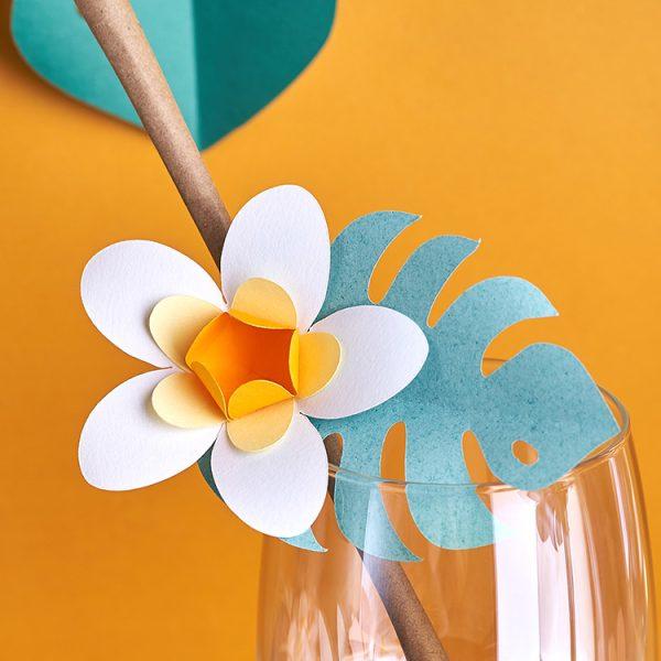 Plumeria Paper Flower