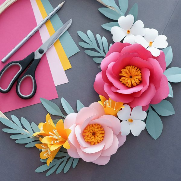 How to make DIY paper flowers
