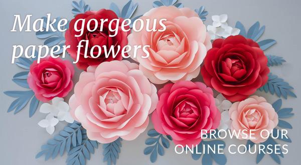 paper flower online courses
