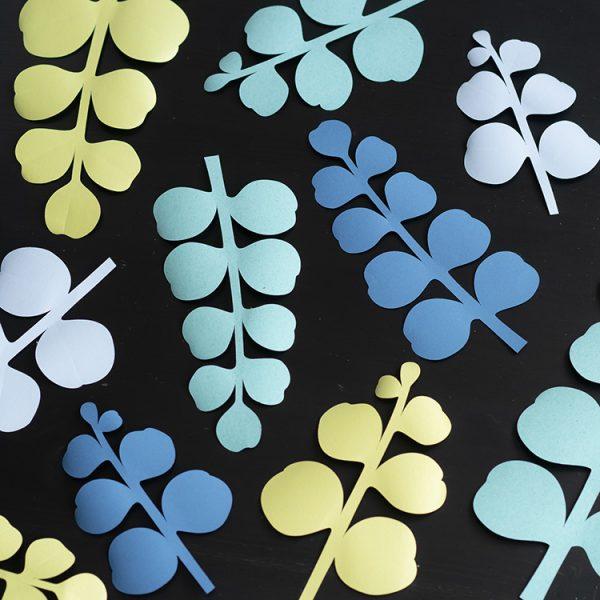 eucalyptus paper leaves